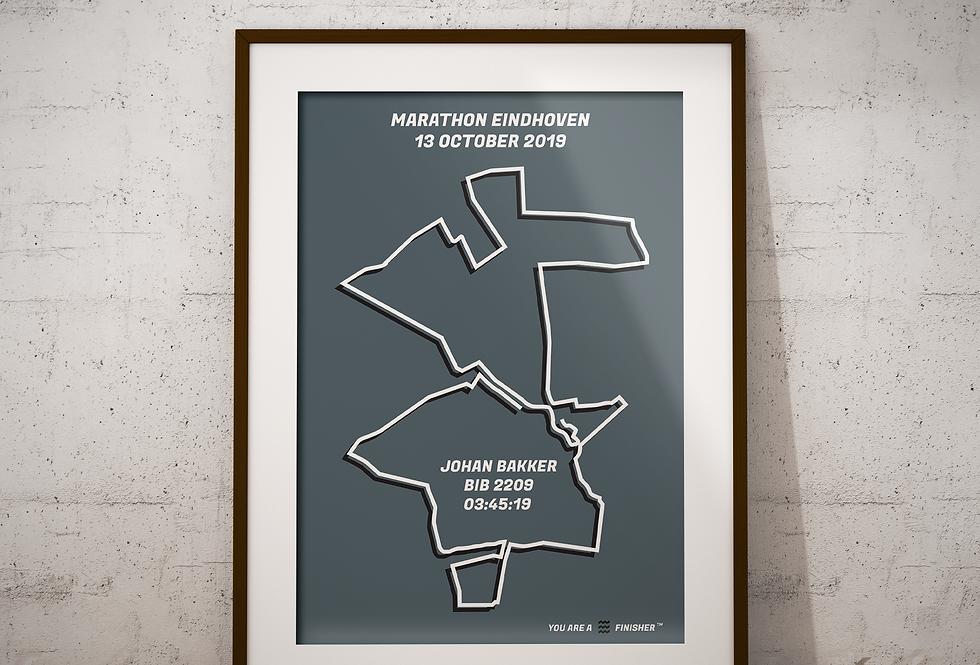 "Marathon Eindhoven 2019 - ""Retro Gray"""