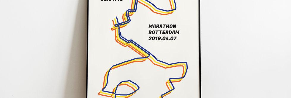"Marathon Rotterdam 2019 - ""Bauhaus"""