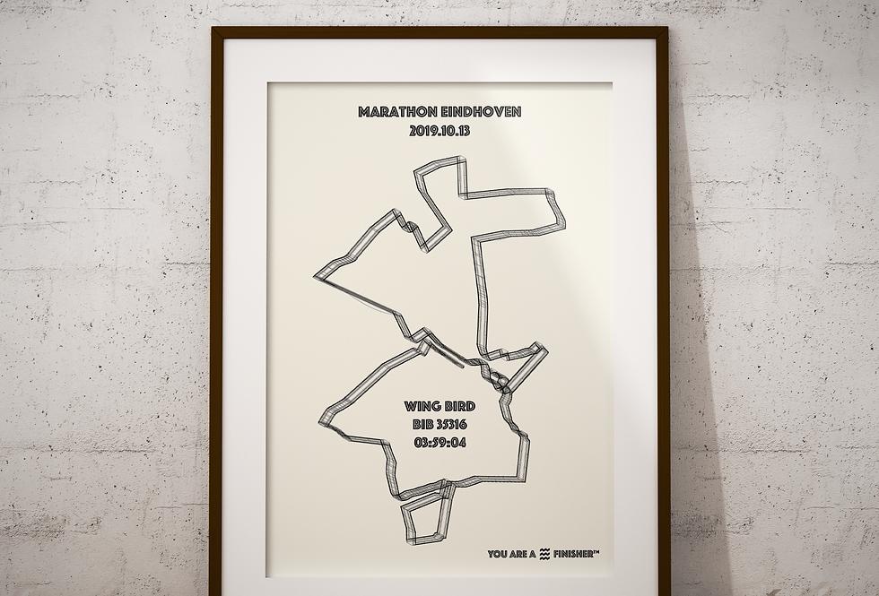 """Marathon Eindhoven 2019 - """"Wireframe"""""""