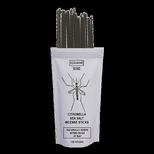 Citronella Sea Salt Incense Sticks