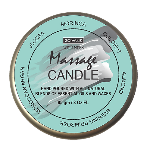 Massage Candle for deep nourishing hydrated feel, 3oz