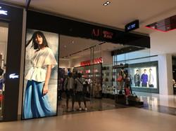 Armani Jeans Window Display