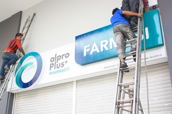 Signage Installation