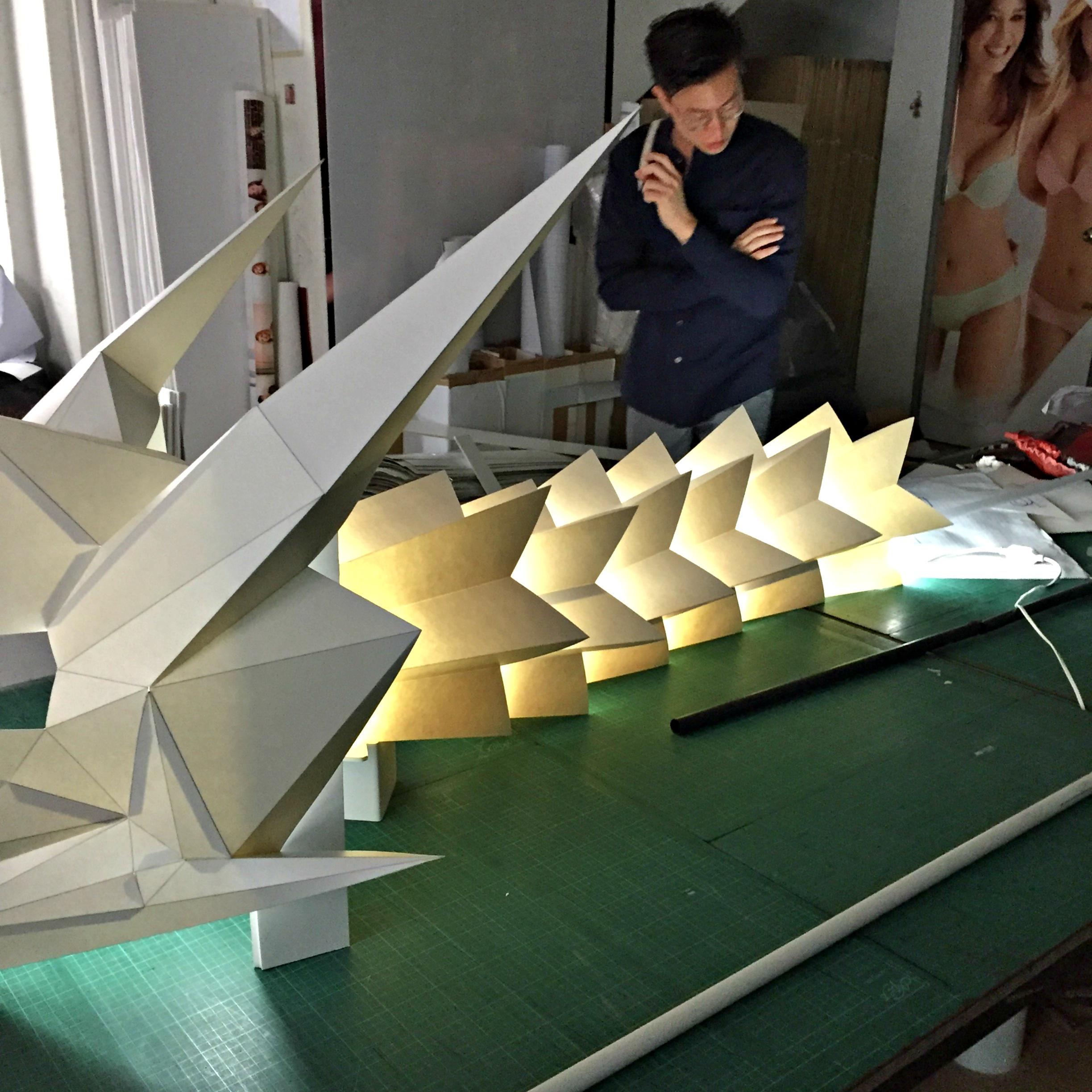 Origami Dragon APW 1