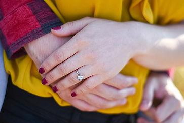 wedding ring little lightbox photographer