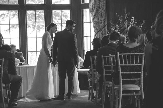 Wedding at Dumbleton Hall, Evesham.