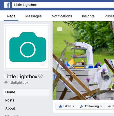 example little lightbox facebook page