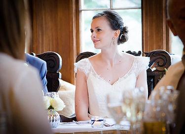 bride manor reception photo