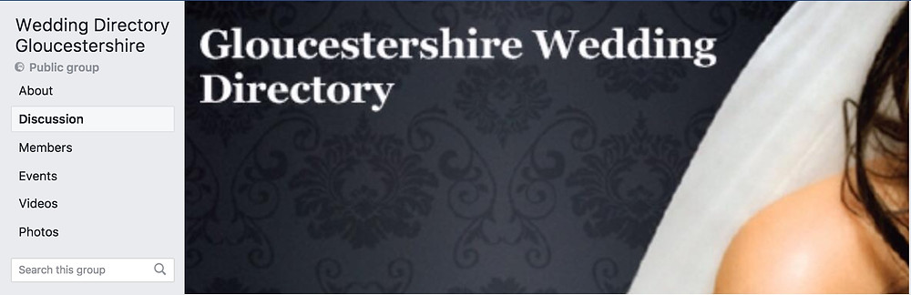Facebook Gloucestershire Wedding Directory