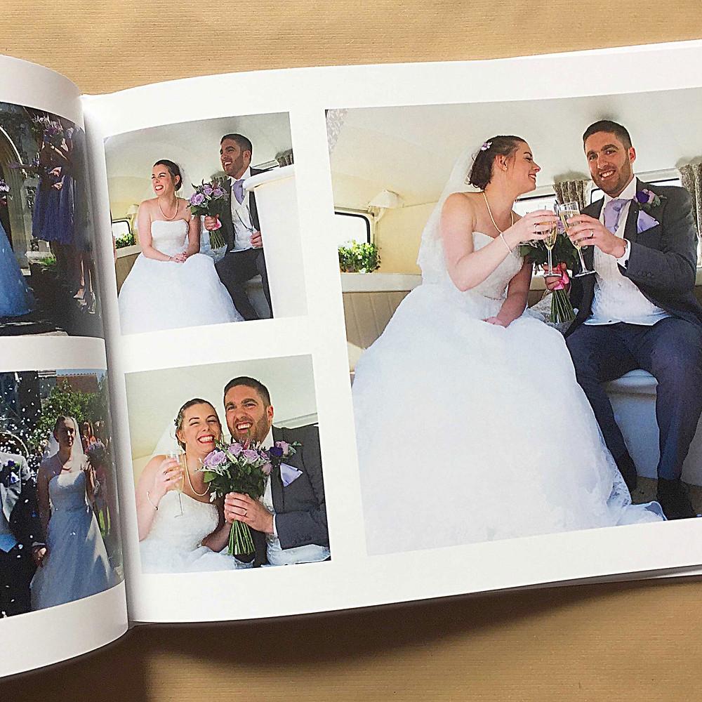 cheltenham photographer wedding album book