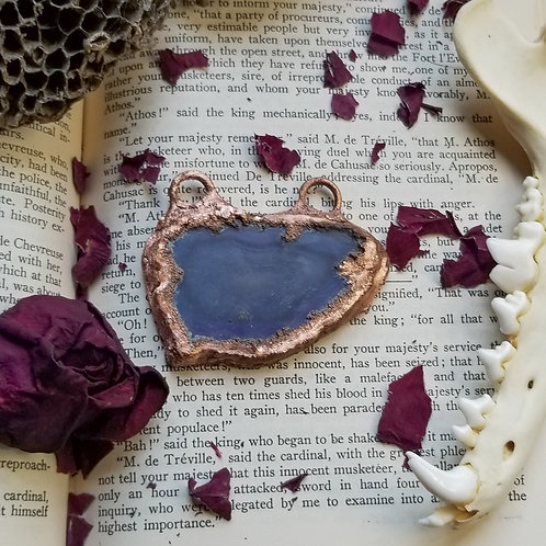 Purple Agate Pendant