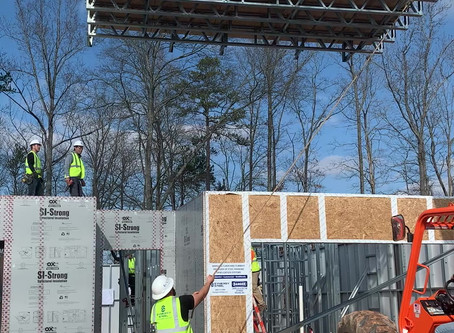 Synergy Steel awarded turnkey steel framing for 102 homes in Waxhaw, NC!