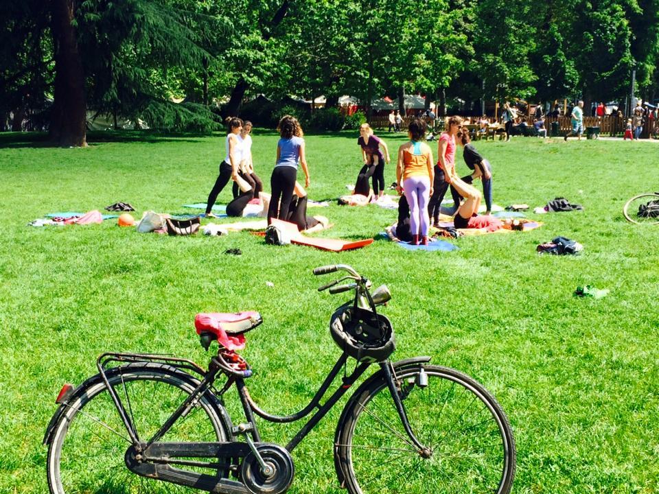 AcroYoga al Parco