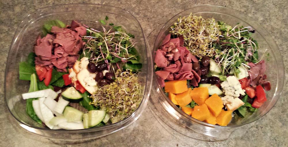 Mmmm tasty salads