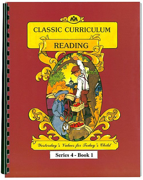 Classic Curriculum Reading Workbook - Series 4, Book 1