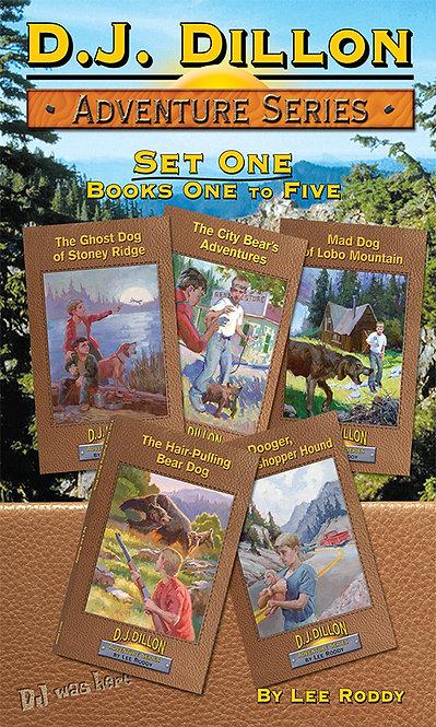 D.J. Dillon Adventure Set 1: Volumes 1 through 5
