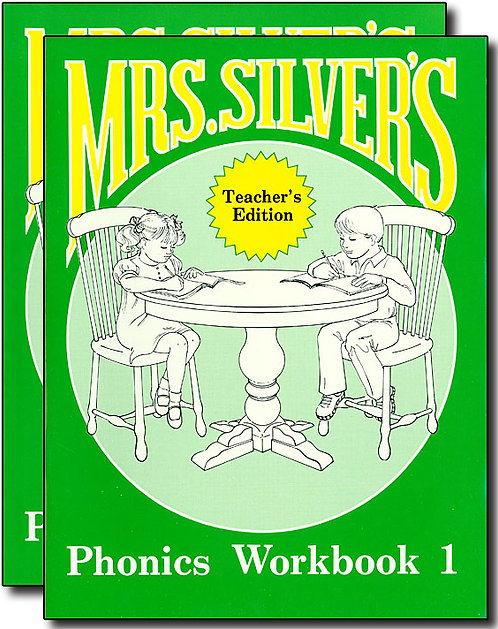Mrs. Silver's Phonics Workbook 1 Set