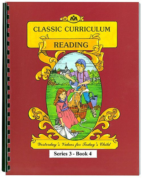 Classic Curriculum Reading Workbook - Series 3, Book 4