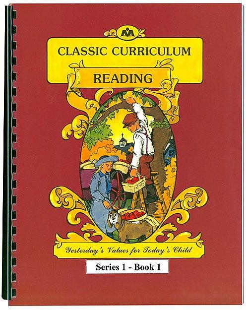 Classic Curriculum Reading Workbook-Series 1, Book 1