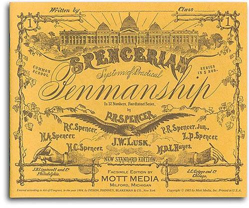 Spencerian Pemanship Copybook 1