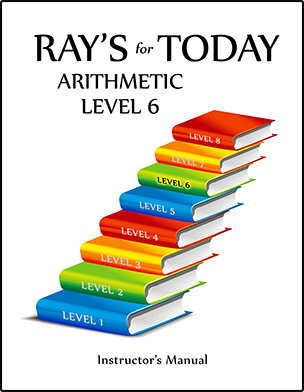 RAY'S for TODAY ARITHMETIC - LEVEL 6 - Instructor's Manual