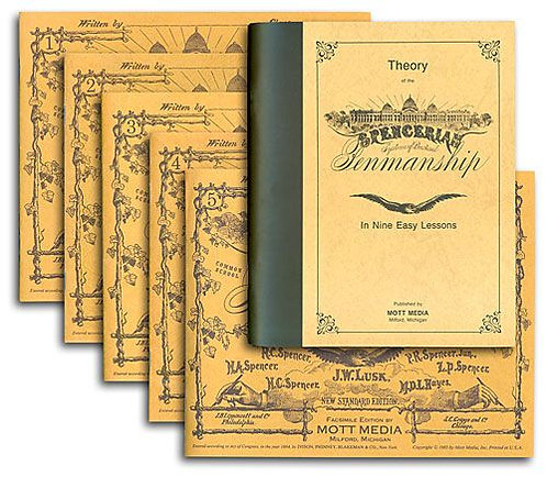 Spencerian Penmanship Set (six books)