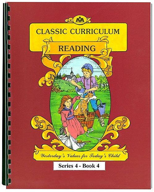 Classic Curriculum Reading Workbook - Series 4, Book 4
