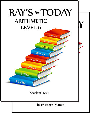 RAY'S for TODAY ARITHMETIC - LEVEL 6 - Set