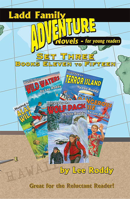Ladd Family Adventures Set 3: Volumes 11 through 15
