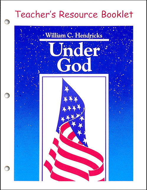 Under God Teacher's Resource Booklet