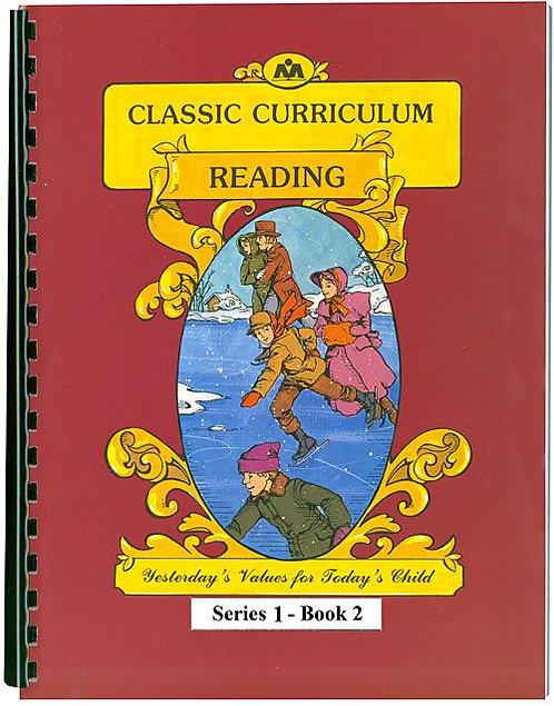 Classic Curriculum Reading Workbook-Series 1, Book 2