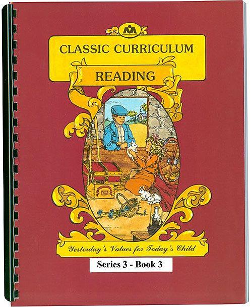Classic Curriculum Reading Workbook - Series 3, Book 3