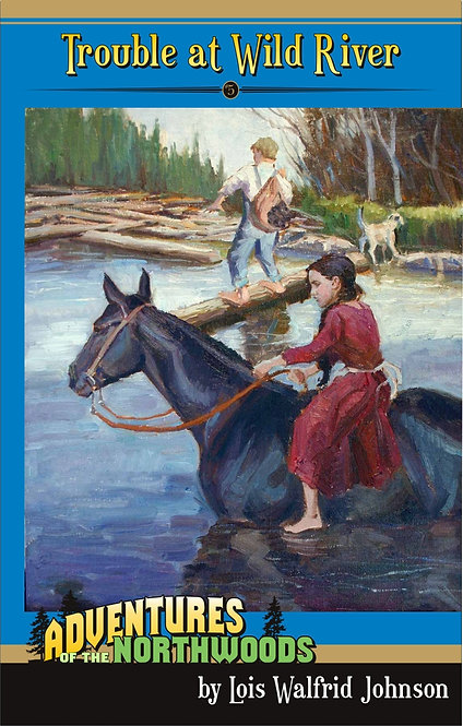 TROUBLE AT WILD RIVER - BOOK 5 - Adventures of the Northwoods