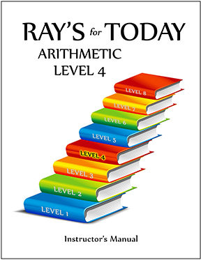 RAY'S for TODAY ARITHMETIC - LEVEL 4 - Instructor's Manual