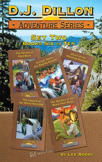 D.J. Dillon Adventures Set 2: Volumes 6 through 10