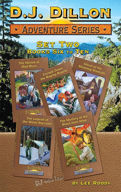 D.J. Dillon Adventures Set 2: Volumes 6 through 10
