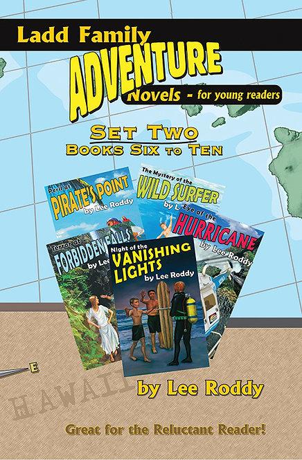 Ladd Family Adventures Set 2: Volumes 6 through 10