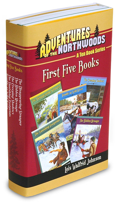 Adventures of the Northwoods Set 2 - Volumes 6 through 10