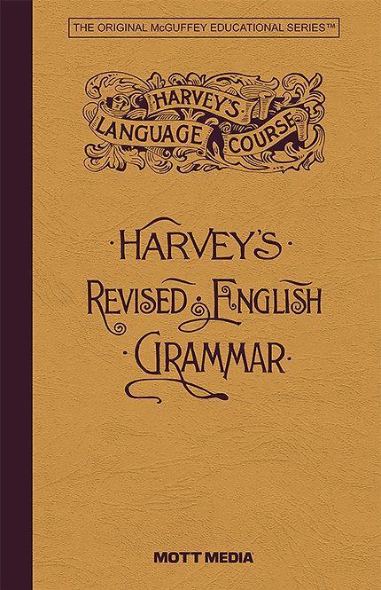 Harvey's Revised English Grammar (paperback edition)