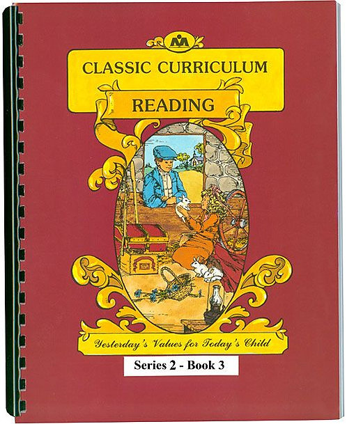 Classic Curriculum Reading Workbook -Series 2, Book 3