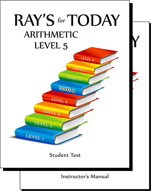 RAY'S for TODAY ARITHMETIC - LEVEL 5 - Set