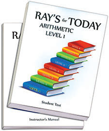 RAY'S for TODAY ARITHMETIC - LEVEL 1 - Set