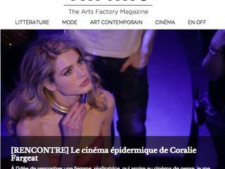 """TAF MAG: """"le cinéma épidermique de  Coralie Fargeat"""""""