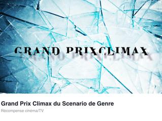 SACRIFICE finaliste au PRIX CLIMAX