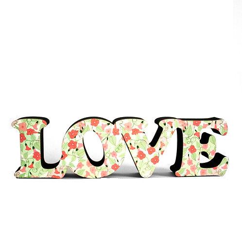 Palavra Love 7cm