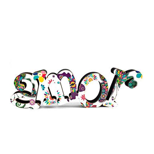 Palavra Amor 5cm