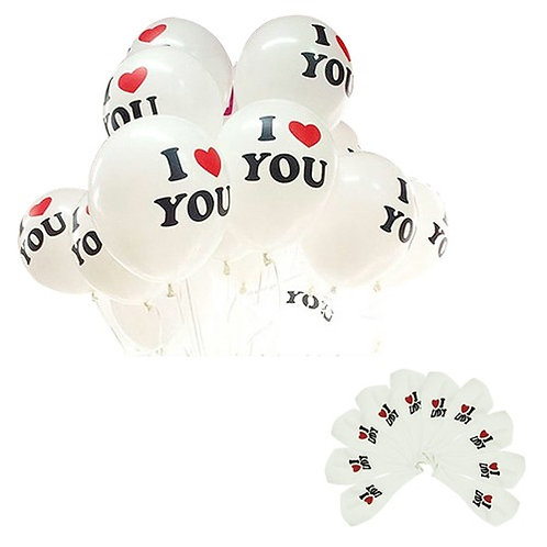 Balões I Love You 12''