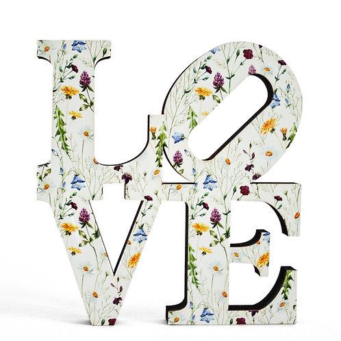 Palavra Love 20cm