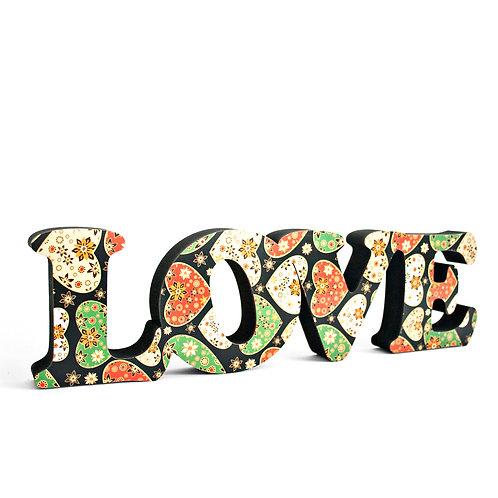 Palavra Love 10cm
