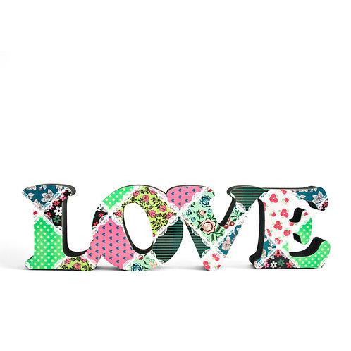 cópia de Palavra Love 10cm